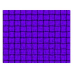 Violet Weave Jigsaw Puzzle (rectangle) by BestCustomGiftsForYou