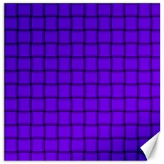 Violet Weave Canvas 20  X 20  (unframed) by BestCustomGiftsForYou
