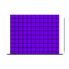 Violet Weave Small Door Mat by BestCustomGiftsForYou