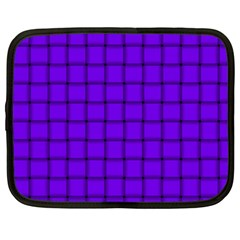 Violet Weave Netbook Case (xxl) by BestCustomGiftsForYou