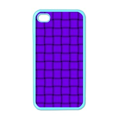 Violet Weave Apple Iphone 4 Case (color) by BestCustomGiftsForYou