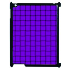 Violet Weave Apple Ipad 2 Case (black) by BestCustomGiftsForYou