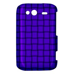 Violet Weave HTC Wildfire S A510e Hardshell Case by BestCustomGiftsForYou