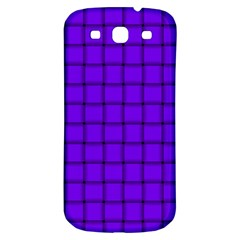 Violet Weave Samsung Galaxy S3 S Iii Classic Hardshell Back Case