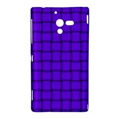 Violet Weave Sony Xperia ZL L35H Hardshell Case