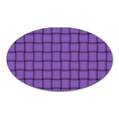 Amethyst Weave Magnet (oval) by BestCustomGiftsForYou