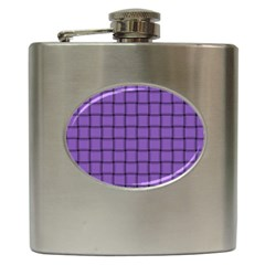Amethyst Weave Hip Flask by BestCustomGiftsForYou