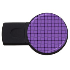 Amethyst Weave 2gb Usb Flash Drive (round) by BestCustomGiftsForYou