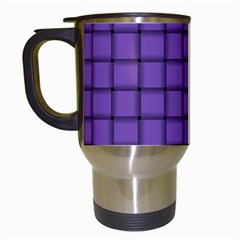 Amethyst Weave Travel Mug (white) by BestCustomGiftsForYou