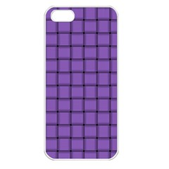 Amethyst Weave Apple Iphone 5 Seamless Case (white)
