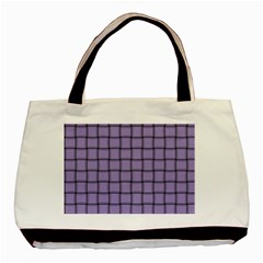 Light Pastel Purple Weave Classic Tote Bag