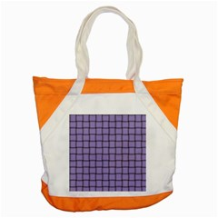 Light Pastel Purple Weave Accent Tote Bag by BestCustomGiftsForYou