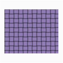 Light Pastel Purple Weave Glasses Cloth (small, Two Sided) by BestCustomGiftsForYou