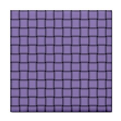 Light Pastel Purple Weave Face Towel