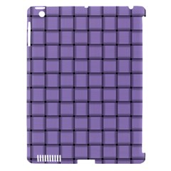 Light Pastel Purple Weave Apple Ipad 3/4 Hardshell Case (compatible With Smart Cover) by BestCustomGiftsForYou