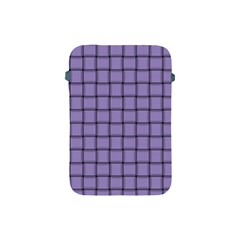 Light Pastel Purple Weave Apple Ipad Mini Protective Soft Case by BestCustomGiftsForYou