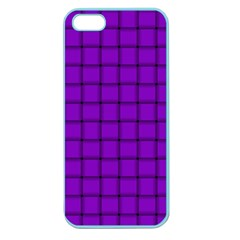 Dark Violet Weave Apple Seamless Iphone 5 Case (color) by BestCustomGiftsForYou
