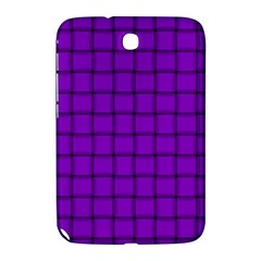 Dark Violet Weave Samsung Galaxy Note 8 0 N5100 Hardshell Case  by BestCustomGiftsForYou
