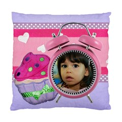 Any Time Is Cupcake Time Pillow Case By Ivelyn   Standard Cushion Case (two Sides)   Hdnmatvtndmj   Www Artscow Com Front