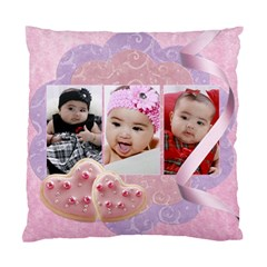 Pink  By Ivelyn   Standard Cushion Case (two Sides)   2lxhywjwmggg   Www Artscow Com Back