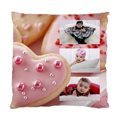 Cookie Hearts Pillow Case By Ivelyn   Standard Cushion Case (two Sides)   B62jt55bky3r   Www Artscow Com Front