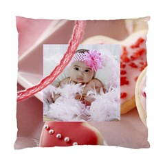 Cookie Hearts Pillow Case By Ivelyn   Standard Cushion Case (two Sides)   B62jt55bky3r   Www Artscow Com Back