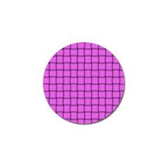 Ultra Pink Weave  Golf Ball Marker 4 Pack by BestCustomGiftsForYou