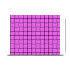 Ultra Pink Weave  Small Door Mat