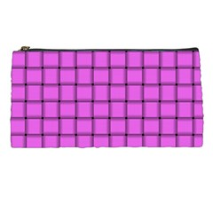 Ultra Pink Weave  Pencil Case by BestCustomGiftsForYou