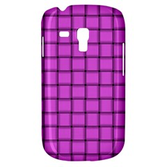 Ultra Pink Weave  Samsung Galaxy S3 Mini I8190 Hardshell Case by BestCustomGiftsForYou