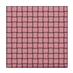 Light Pink Weave Ceramic Tile by BestCustomGiftsForYou