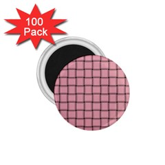 Light Pink Weave 1 75  Button Magnet (100 Pack) by BestCustomGiftsForYou