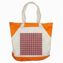 Light Pink Weave Accent Tote Bag by BestCustomGiftsForYou
