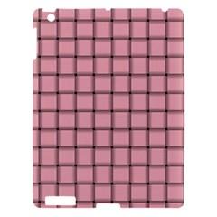 Light Pink Weave Apple Ipad 3/4 Hardshell Case by BestCustomGiftsForYou