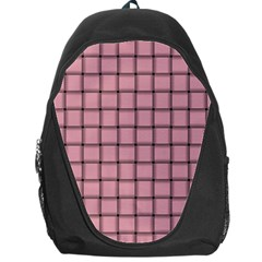 Light Pink Weave Backpack Bag by BestCustomGiftsForYou
