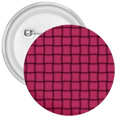 Dark Pink Weave 3  Button