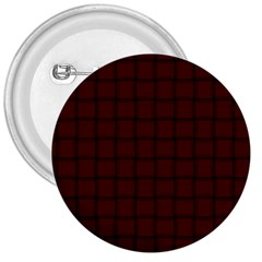Dark Scarlet Weave 3  Button by BestCustomGiftsForYou