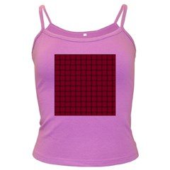 Burgundy Weave Spaghetti Top (colored) by BestCustomGiftsForYou
