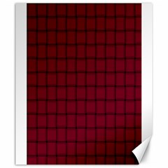 Burgundy Weave Canvas 20  X 24  (unframed) by BestCustomGiftsForYou