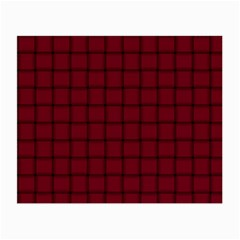 Burgundy Weave Glasses Cloth (small, Two Sided) by BestCustomGiftsForYou