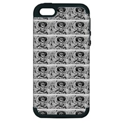Calavera Oaxaquena by José Guadalupe Posada 1903 Apple iPhone 5 Hardshell Case (PC+Silicone) by EndlessVintage