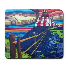 Cape Bonavista Lighthouse Large Mouse Pad (rectangle) by reillysart