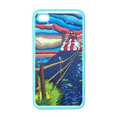 Cape Bonavista Lighthouse Apple Iphone 4 Case (color) by reillysart