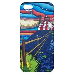 Cape Bonavista Lighthouse Apple Iphone 5 Hardshell Case