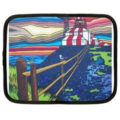Cape Bonavista Lighthouse Netbook Case (large)