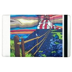 Cape Bonavista Lighthouse Apple Ipad 2 Flip Case by reillysart