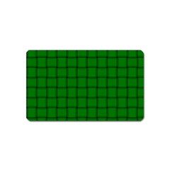 Green Weave Magnet (name Card) by BestCustomGiftsForYou