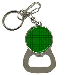 Green Weave Bottle Opener Key Chain by BestCustomGiftsForYou