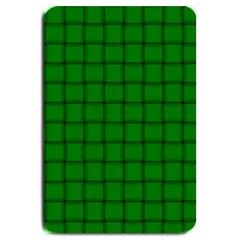 Green Weave Large Door Mat by BestCustomGiftsForYou