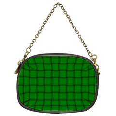 Green Weave Chain Purse (two Side) by BestCustomGiftsForYou